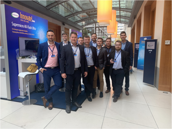 We visited Supermicro EMEA Innovate in Berlin on October 11th 2019